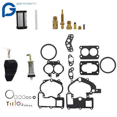 Carburetor 3302-804844002 Rebuild Kit For Mercruiser Marine 2Barrel 3.0 4.3 5.0