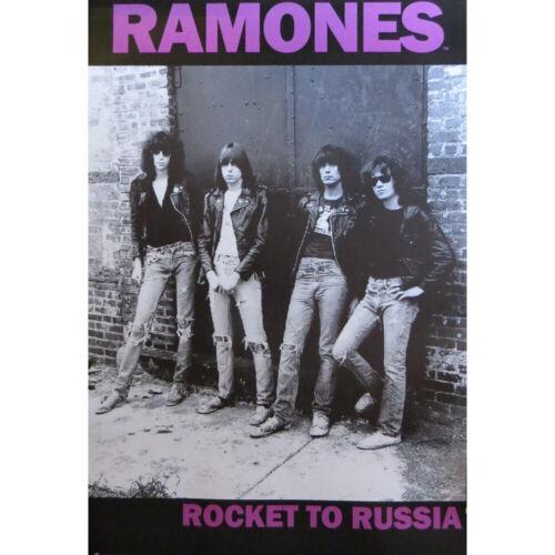 "Ramones Rocket to Russia Poster - 24""x36"""