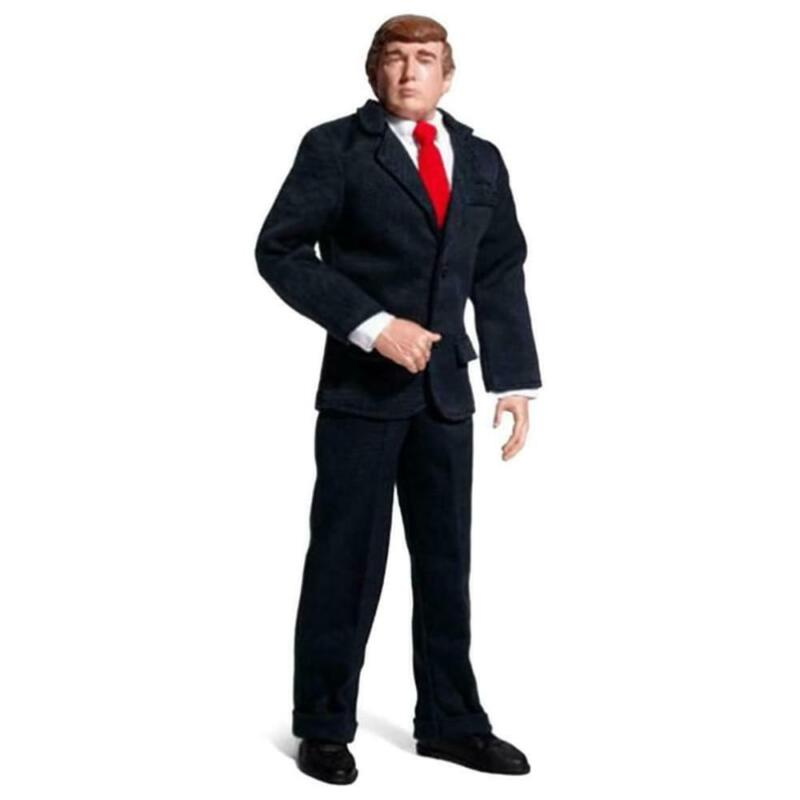 Donald Trump 12 Inch Talking Collectible Figure | 17 Classic Phrases