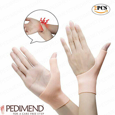 Best Gel Wrist Support Brace Pain Relief For Carpal Tunnel Pedimend (1Pair)
