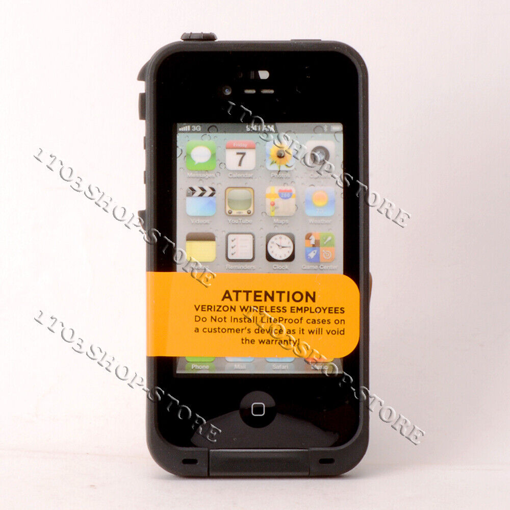 best website 7f073 6144b LifeProof FRE Waterproof Water Proof Hard Shell Case fo iPhone 4 ...