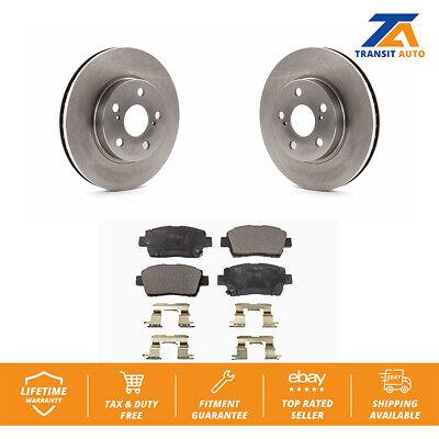 Front Disc Rotors & Ceramic Brake Pads Fits 2000 Toyota Celica 2000 Toyota Celica Brake