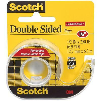 3m Double Sided Tape Dispenser (3M Scotch Double-Sided Tape w/Dispensers-Double-sided Tape,w/Dispenser,Permanent )