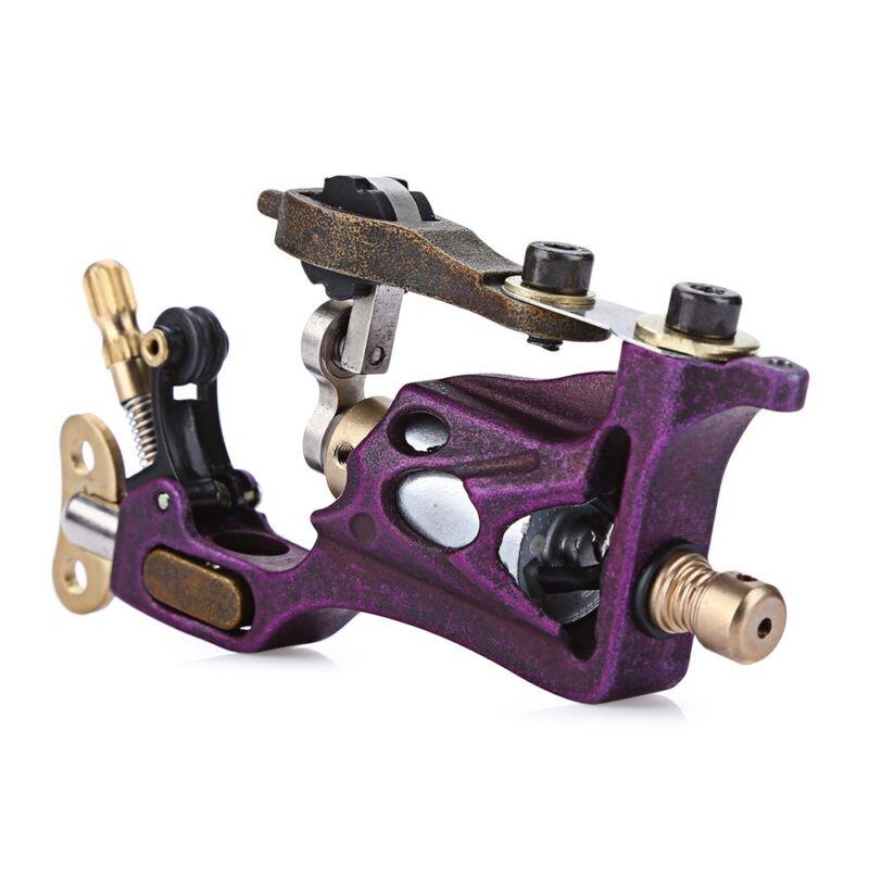 High performance Tattoo Alloy Motor Rotary Machine Gun Purple stability Silent