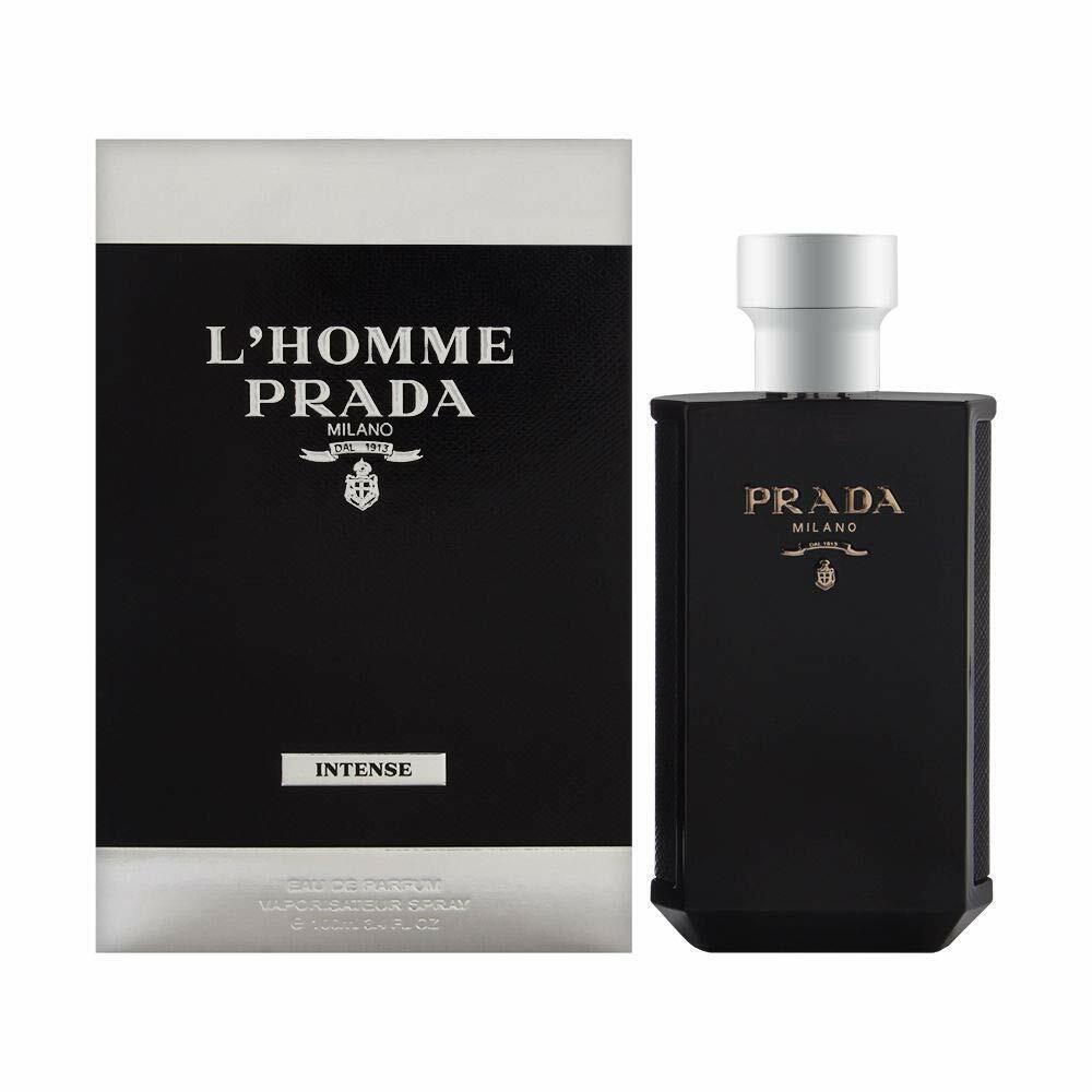 PRADA L'Homme INTENSE Eau De Parfum für Herren - 100 ml NEU!