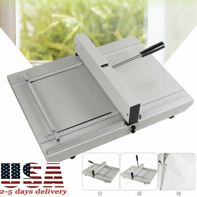 Manual Paper Creaser Creasing Machine 350mm A4 Card Covers High Gloss Cover Tool