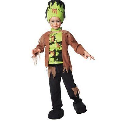 Muskel Kinder Jungen Kostüm Fasching Halloween Karneval (Frankenstein Kostüm Jungen)