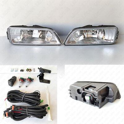 JDM Style Fog Light Kit For 2006-2007 Honda Accord 4DR Seden w/Wire Bulbs Swithc