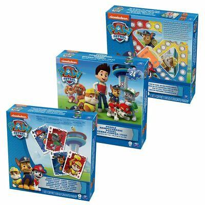 Spiele Set | 3 in 1 | Paw Patrol | Spinmaster | Kinder Familien Spiel ()