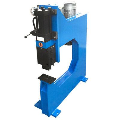 "Hydraulic Bench Press 10 Ton 110V 25"" Throat Depth for Metal Fabrication Shop"