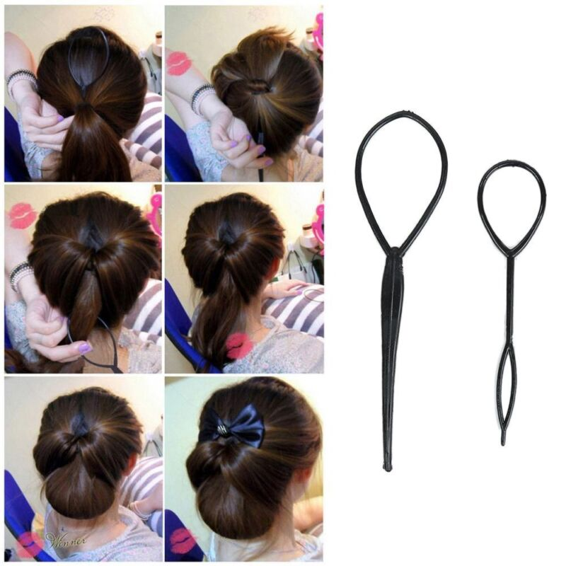 Pleasing Easter 2Pcs Set Chic Braids Pull Hair Needle Ponytail Pigtail Natural Hairstyles Runnerswayorg