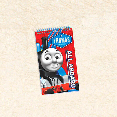 "5"" x 3"" Thomas the Tank Engine Trains Birthday Party Loot Treat Favor Notepad"