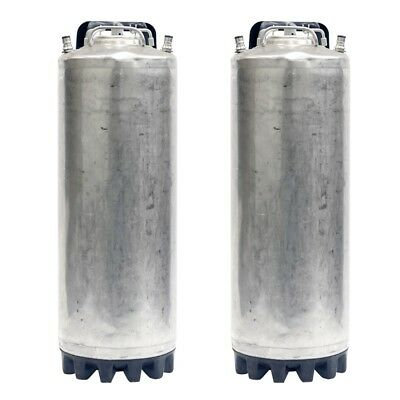 2 Pack - 5 Gallon Ball Lock Kegs Reconditioned - Homebrew Draft Beer - Free Ship