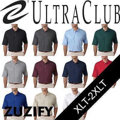 Cool Mesh-polo ( UltraClub Mens Tall Cool and Dry Mesh Polo Shirt. 8405T )