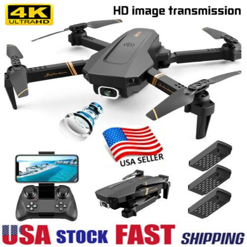 New RC Drone 4k HD Wide Angle Camera WIFI FPV Drone Dual Camera PRO Quadcopter