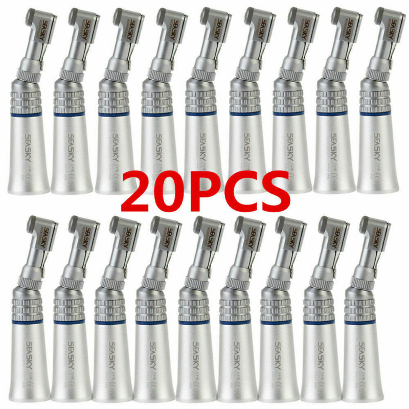 20 NSK type Dental Low Speed Contra Angle Handpiece Latch 2.35mm Bur Exter Water