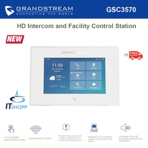 Grandstream GSC3570 Wi-Fi Touchscreen IP Video Intercom