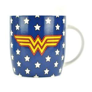 Boxed Wonder Woman Mug - Stars Design