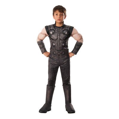 Boys Deluxe Infinity War Thor Halloween Costume](Thor Costume For Boys)