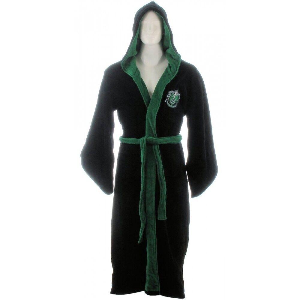 Mens Harry Potter Slytherin Dressing Gown OSFM Cs081 AA 09   eBay