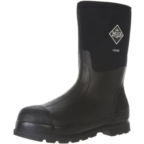 The Original MuckBoots Adult Chore Mid Boot,Black,Men's 11 M/Women's 12 M CHM-000A