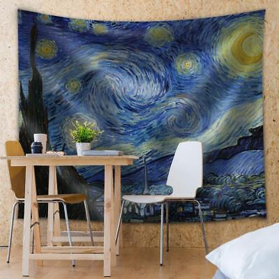 Wall26® - Starry Night by Vincent van Gogh - Fabric Tapestry- 68x80 inches