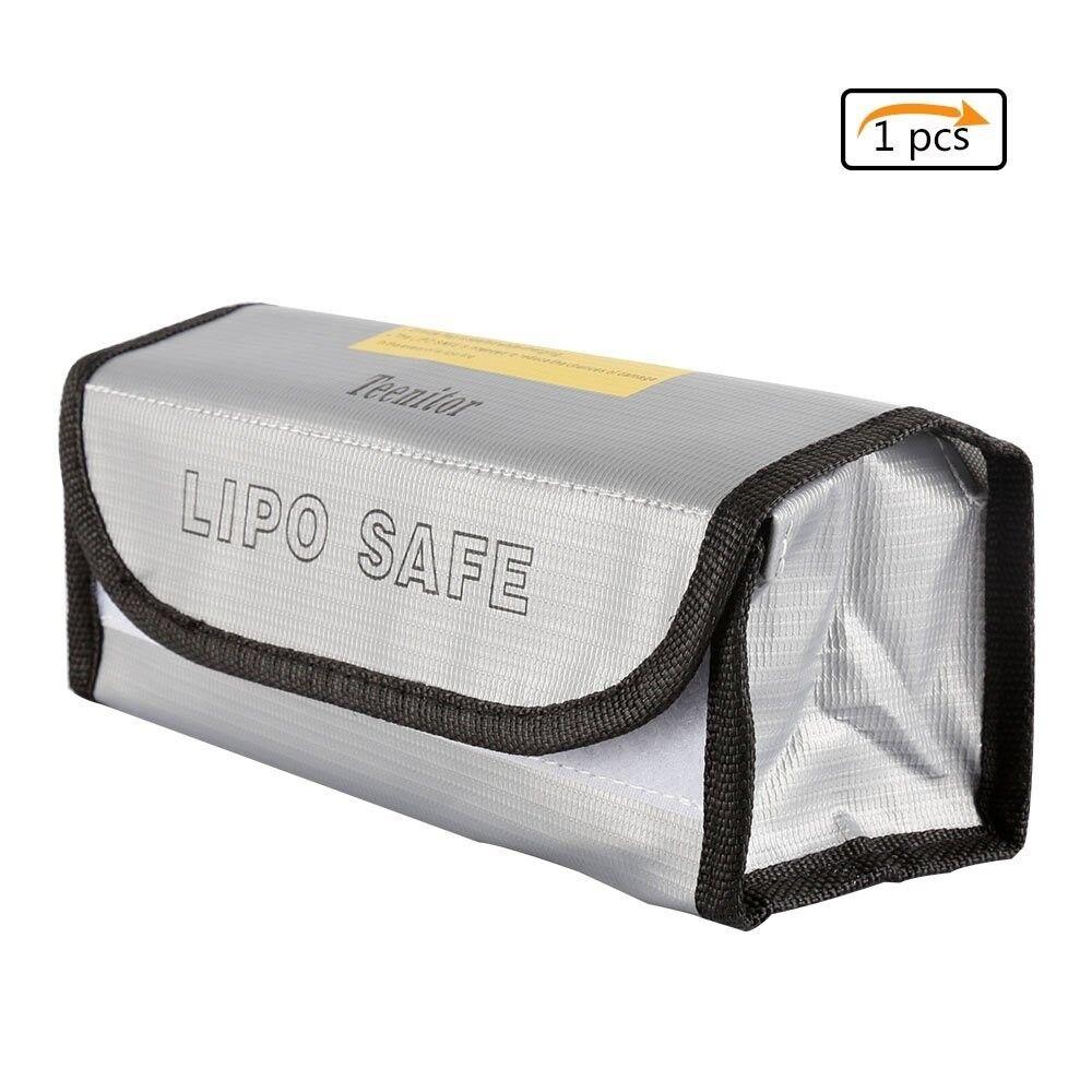 Teenitor Fireproof Explosionproof Lipo Battery Safe Bag Lipo