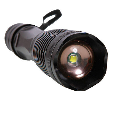 Ultra Bright 5000 Lumens Focus Zoomable LED Flashlight Torch Lamp Light