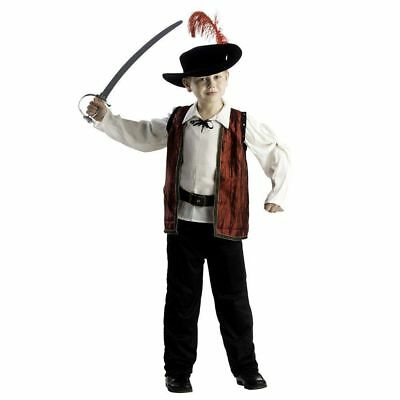 Boys Musketeer Costume 3-4 yrs Brand New & Sealed World Book Day D'artagnan ](3 Musketeer Costume)