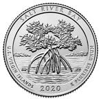 US Quarter Salt River Bay 2020 D