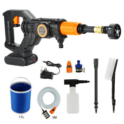 Cordless Pressure Washer Power Cleaner Portable 320PSI w/ 2.0A Battery & Charger