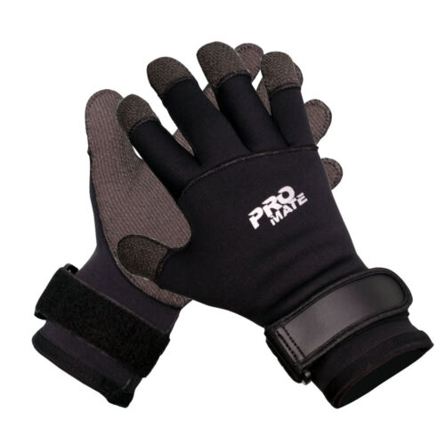 5mm Neoprene Cut Resistant Palm Cold Water Scuba Diving Gloves Lobster Urchin