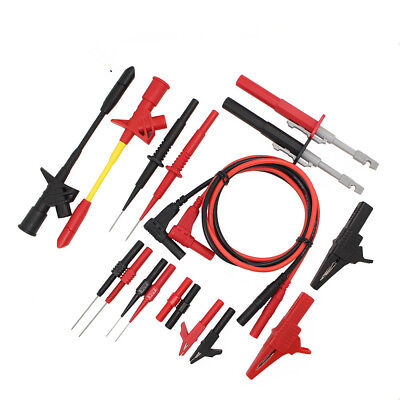 Test Lead Kit Automotive Test Probe Kit Universal Multimeter Probe Leads Kit