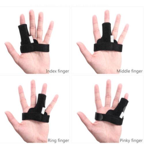 Finger Fixing Support Splint Straightener Brace Strap Trigge