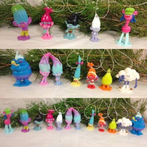 DreamWorks Trolls Christmas Ornament Set of 12 Ornaments