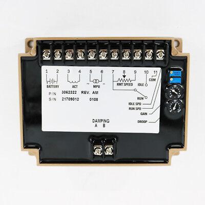 New Engine Governor Speed Controller 3062322 Generator Speed Control Unit