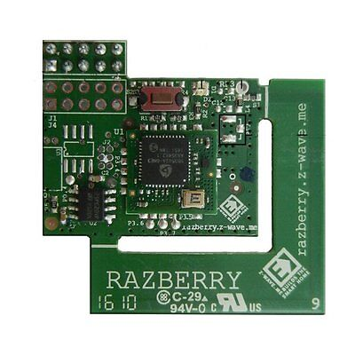ZWave.Me Frequency Change RaZberry2 Raspberry Pi Daughter Z-Wave Plus Card