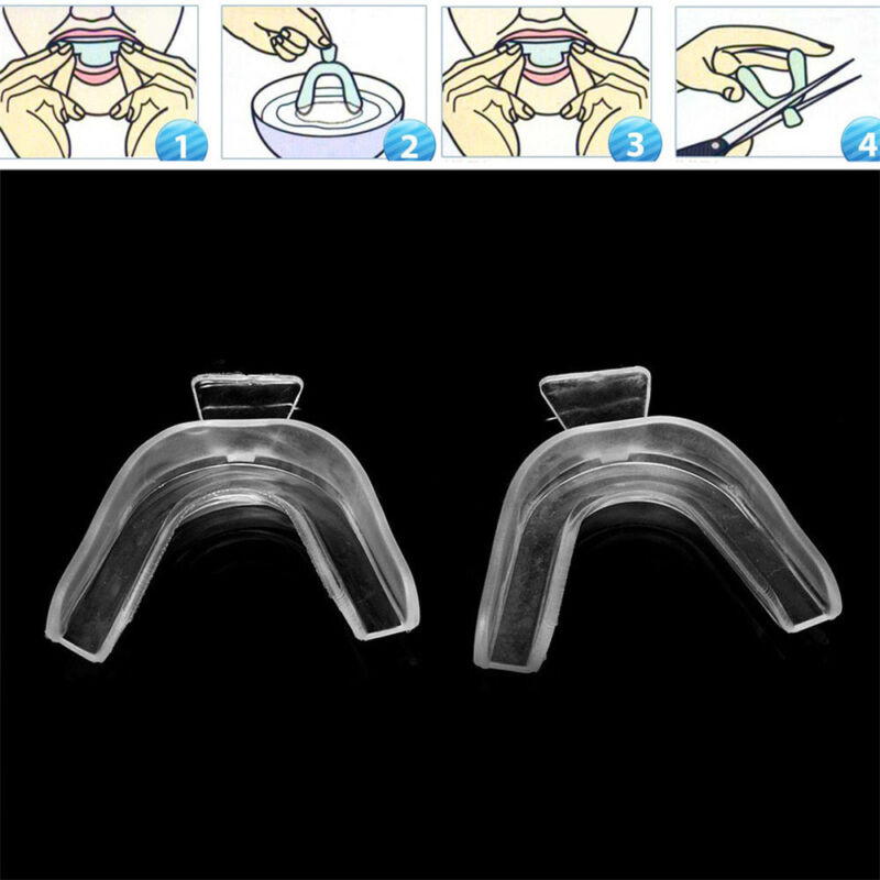 New 2PCS Thermoform Moldable Mouth Teeth Dental Trays Tooth