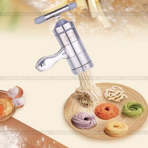 Stainless Steel Pasta Noodle Maker Fruit Juicer Press Spaghe