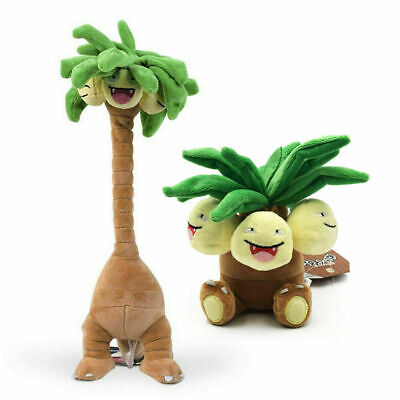 Pokemon Center Alola Exeggutor and Fit Exeggutor Plush Doll Stuffed Figure Toy