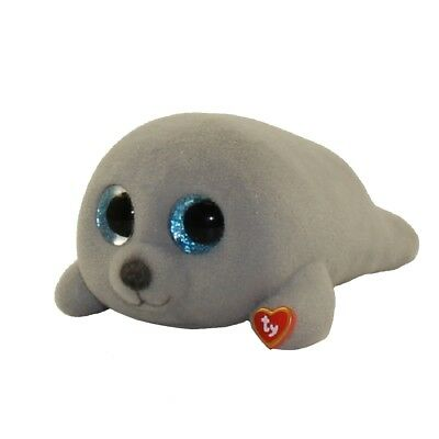 2018 TY Beanie Boos Mini Boo Series 3 Collectible Figure Neal Grey Seal (2 INCH)