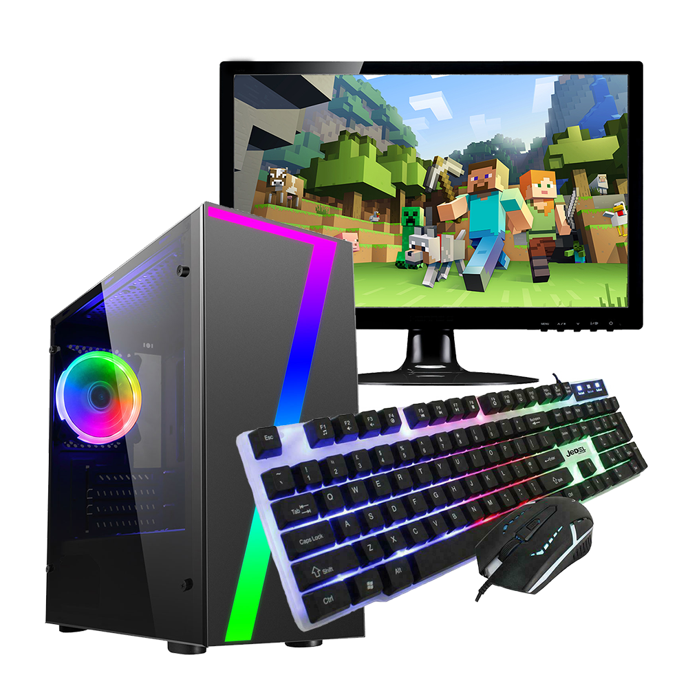 Computer Games - FAST Intel Core i7 Gaming PC Bundle Computer 16GB RAM 1TB HDD 4GB GTX1650 WiFi