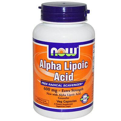 ACIDO ALFA LIPOICO 600 mg. 60 CPS.