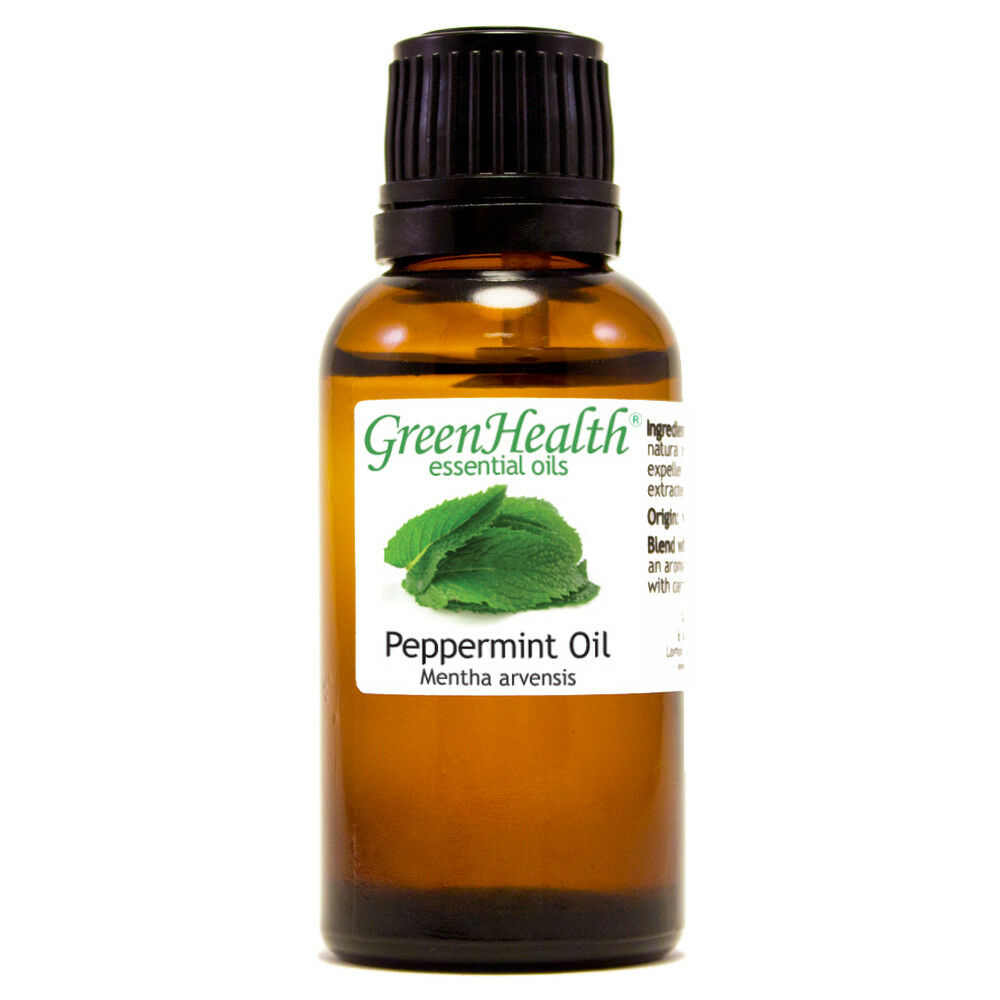 Essential Oils 30 mL (1 oz) - Pure & All Natural - Aromatherapy Oil Peppermint