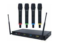 Kam KWM Quartet Microphone System- BRAND NEW