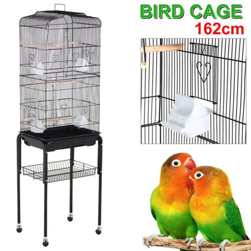 Large Tall Cockatiel Parakeet Finch Canary Cage Bird Cage...
