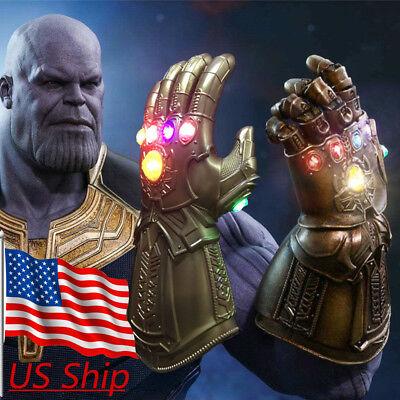 Infinity War Infinity Gauntlet LED Light Thanos LED Gloves Avenger Cosplay Prop - Gauntlet Gloves