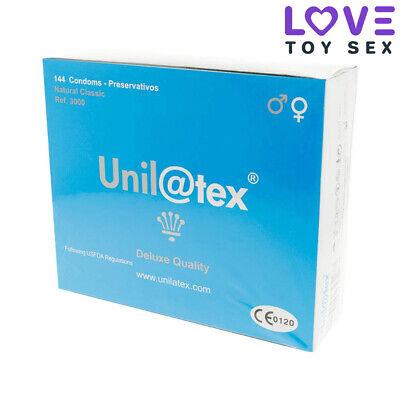 Condones Preservativos UNILATEX NATURALES 144 UDS