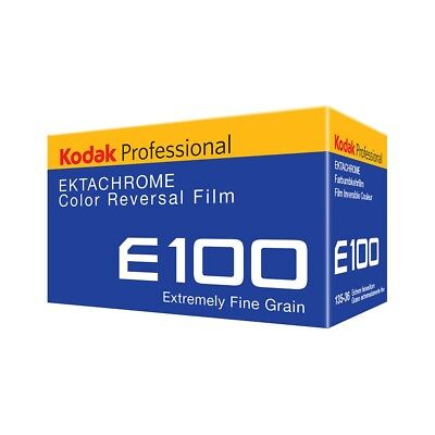 Kodak Professional Ektachrome E100 35mm 36exp Colour Transparency Slide Film