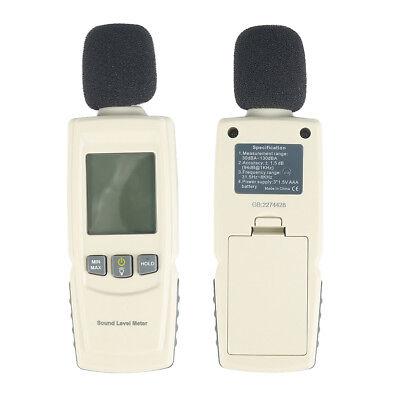 Precision Sound Pressure Tester Level Meter Decibel Noise Measurement 30130db E